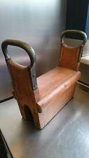 More details for vintage push up wooden block (gym equipment)