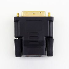 Male to HDMI Female 24+1 25 Pin Adapter Converter DVI Gold-Plated For HDTV LCD