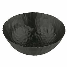 Alessi Joy N.11 Round Bowl, Super Black