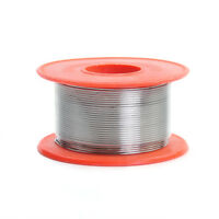 Siver Color Tin Le Solder Core Flux Soldering Welding Wire Spool Reel 0.8mm 50G