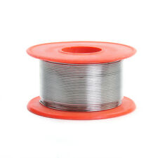 Siver Color Tin Le Solder Core Flux Soldering Welding Wire Spool Reel 0.8mm 50G