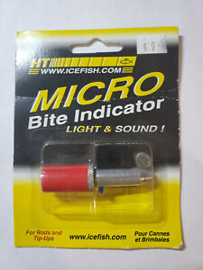 Micro Bite Indicator Light and Sound For Rods and Tip-Ups