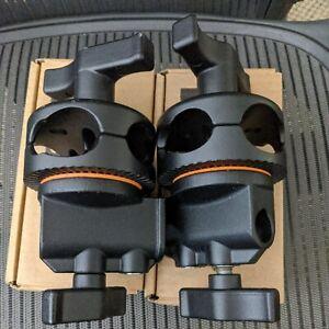 Lot of 2 Studio Lighting Grip Heads - Avenger D200LST2B
