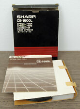 NOS Vintage Sharp CE-1600L Pocket Computer Optical Fiber Cable for PC-1600 Fibre