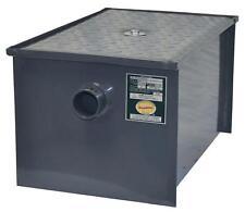 BK Resources BK-GT-20 20 lb Grease Trap Interceptor 10 Gallons Per Minute