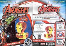 Marvel Iron Man Mark 45 Helmet Metal Earth 3-D Laser Cut Steel Model Kit #MMS324