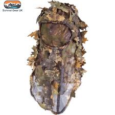 Jack Pyke LLCS Balaclava in English Oak Hunting Stalking Camo Leaf Head Gear