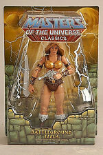 MASTERS OF THE UNIVERSE Classics_BATTLEGROUND TEELA figure_Exclusive_New and MIP