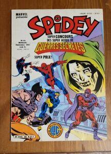 Comics Français  Lug - Semic   SPIDEY  N° 68