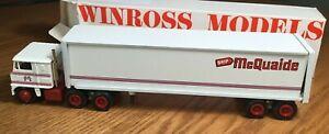 Winross White 7000 W C McQuaide TractorTrailer 1/64