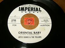 ARTIE BANKS & THE TELLERS - ORIENTAL BABY - THE  / LISTEN -  R&B SOUL POPCORN