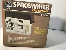 Vintage Ge Spacemaker Can Opener Ec-60 Under Cabinet Mounted New Sealed Box 1984