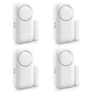 Türalarm Fenster alarm Magnetsensor Tür Einbruchschutz Alarmanlage 120db-4 Stk