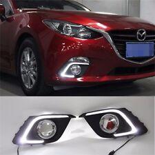 LED Daytime Running Light For Mazda 3 Axela Car Fog Lamp Mazda3 DRL 2013-2014