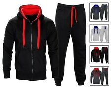 MENS TRACKSUIT SET FLEECE HOODIE TOP BOTTOMS JOGGERS GYM TRACKIES JOGGING S-5XL