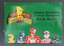 Bandai Mighty Morphin Power Rangers - Kick Balls NEW Set Of 12