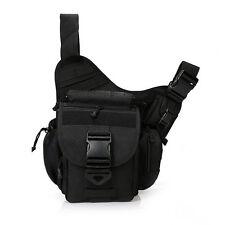 Men's Tactical Waist Pack Hiking Cycling Travel Messenger Saddle Thigh Drop Bag