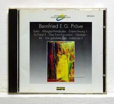 BERNFRIED E.G. PROVE works MUSICA VIVA HANNOVER, VALADE - WERGO CD NM