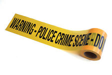CRIME SCENE POLICE TAPE #30 METERS FANCY DRESS HALLOWEEN PARTY DECORATION