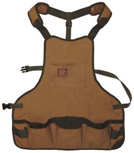 Bucket Boss 80200 Duckwear Heavy-Duty SuperBib Apron - 16 Pockets