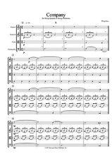 Philip Glass: String Quartet No 2 'Company' (Score) String Quartet Sheet Music S