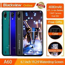 """Blackview A60 Original 6.1"""" Smartphone 19.2:9 Full Waterdrop Screen 4080mAh Andr"""