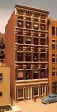 "GRANT ST IRON FRONT BUILDING KIT-CITY CLASSICS HO-SCALE- 5-1/4""L X 3-1/2""W X 9""H"