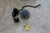 1995 SUZUKI GSXR750W GSXR 750 IGNITION LOCK KEY SET W/ GAS CAP AND SEAT LOCK