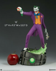 DC Sideshow Collectibles Animated Series Joker Statue Collector Edition New