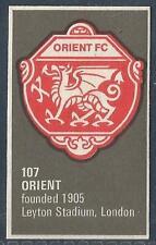 BARTHOLOMEWS 1970'S CREST #107-ORIENT