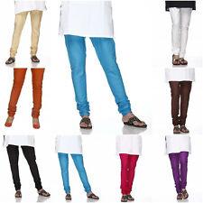Plain Colors Indian Churidar Pants 100% Cotton-Tights Kurti Salwar Kameez