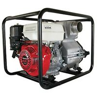 """COMMERCIAL TRASH PUMP 4"""" Intake & Outlet - 11 HP - Honda Engine - 506 GPM"""