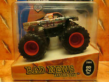 HOT Wheels 2004 METAL Base  #28 *BAD News Travels FAST* MONSTER JAM Rare & VHTF