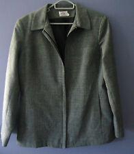 Lovely Postie Fashions Work Jacket *Size 16 *Grey  *Made in Australia