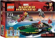 APRIL 2013 LEGO IRON MAN 3 76006 IRON MAN: EXTREMIS SEA PORT BATTLE *NEW&SEALED!