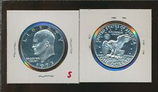 New listing Eisenhower Proof Silver Dollar - 1973-S - Scarce Date - #D
