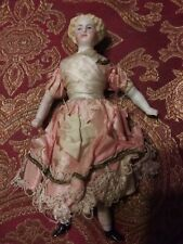 Antique Bisque Late 1800's Girl Dollhouse Doll