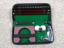 New Yale Portable Golf Putting Travel Set - Home - Office - Garage - Basement