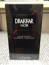 Guy Laroche DRAKKAR NOIR 200ml EDT Spray - NEW & CELLOPHANE SEALED -