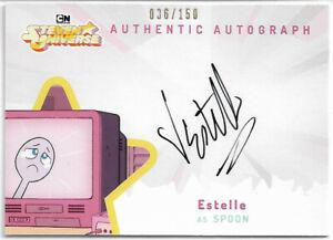 Steven Universe (Cryptozoic 2019) ~ ESTELLE Auto/Autograph E-S #036/150 Spoon