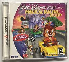 Walt Disney World Quest MAGICAL RACING TOUR DC Dreamcast USA