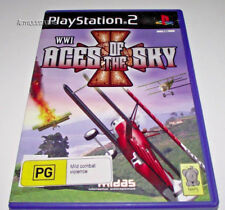 WWI: Aces of the Sky PS2 PAL *Complete* Biplane Action