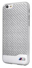 BMW Back Hard Case Cover Schutzhülle Hartschale Apple iPhone 6 Silber