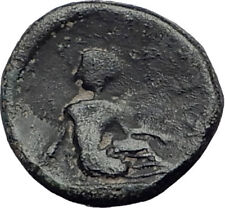 KIERION in THESSALY 400BC Authentic Ancient Greek Coin ZEUS & NYMPH ARNE i65051