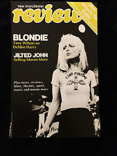Blondie-Debbie Harry-New Manchester Review Cover-Camp Funtime-Poster