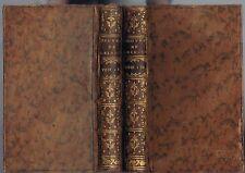OEUVRES de Madame & Mademoiselle DESHOULIÈRES Éd PRAULT Éloge Pièces 1753 T1 T2