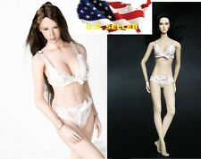 1/6 female Lace Lingerie Sets bra Panties Pink color for Kumik Phicen ❶USA❶❶