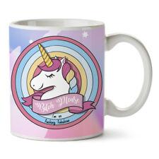Bitch Please I'm So Fucking Fabulous Unicorn Novelty Ceramic Coffee Mug Gift