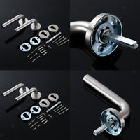 Stainless Steel Indoor Lever Door Lock Set Bedroom Handle Knob Lockset