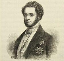 UNBEKANNT (19.Jhd), Porträt Ferdinand von Zschinsky (1797-1858), KSt.